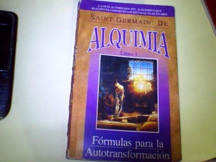 ALQUIMIA libro 1 Saint Germain;De 1993