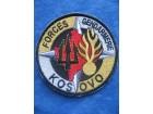 AMBLEM KFOR - FORCES GENDARMERIE KOSOVO 1