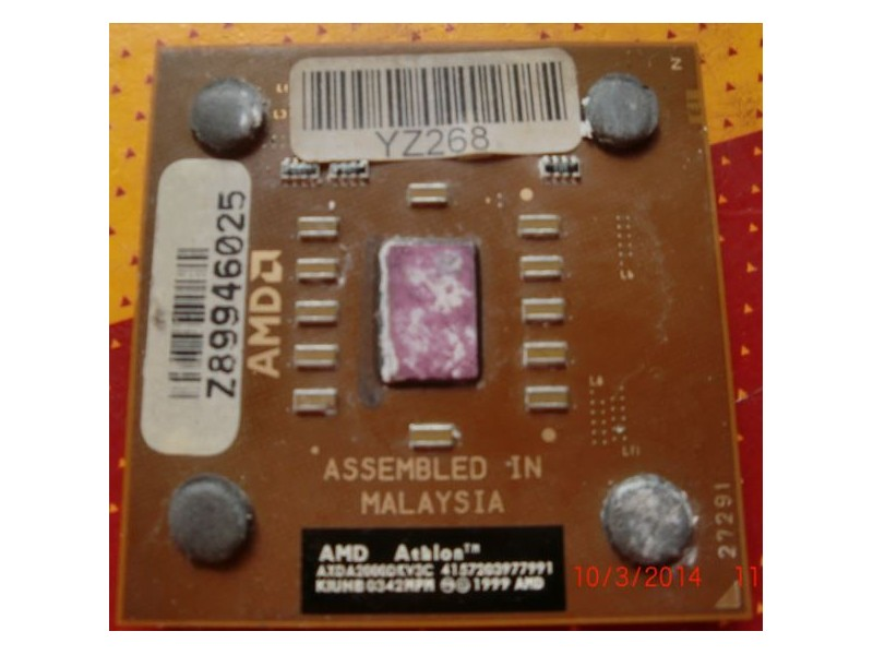 AMD Athlon XP 2000+ (Soket A) - soket 462