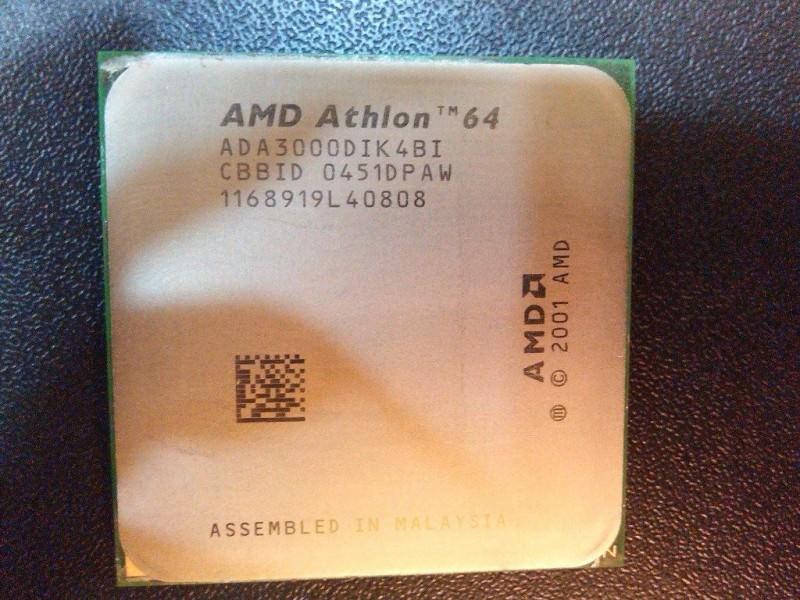 AMD Athlon64 3000+ (socket 939, 1.8GHz)
