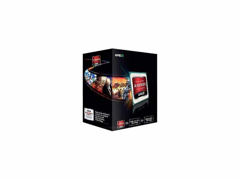 AMD FM2 X4 A10-5800K 3.80Ghz/4MB/64bit/GPU RAdeon 7660D/BOX