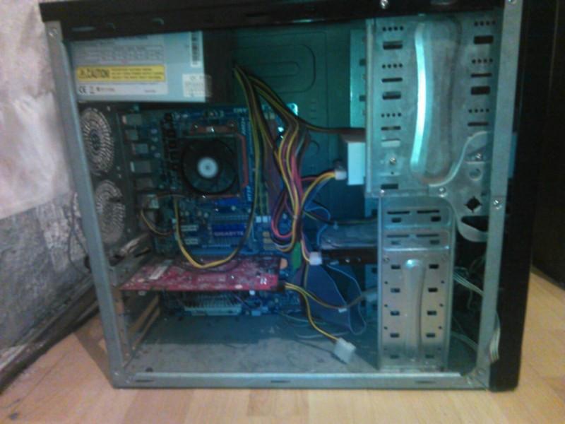 AMD Quad Core 3GHz, 9600GT, 4GB RAM, 80GB HDD