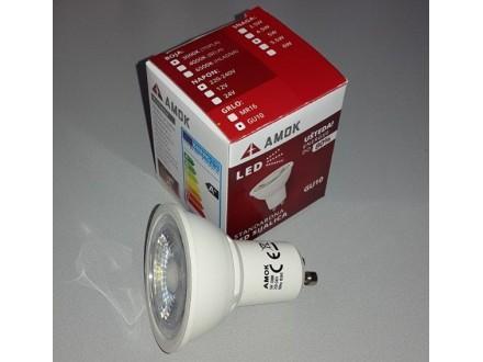 AMOK GU10 LED sijalica 5W 3000k Toplo bela 360lm