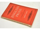 AN ANTHOLOGY OF ENGLISH PROSE 1400-1900 WITH COMMENTARY