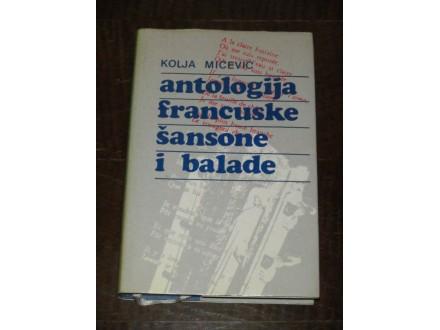 ANTOLOGIJA FRANCUSKE ŠANSONE I BALADE