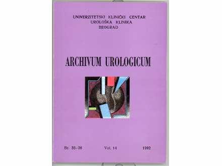 ARCHIVUM UROLOGICUM BR. 35-36