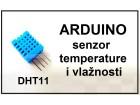 ARDUINO senzor temperature i vlaznosti DHT11
