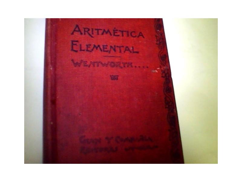 ARITMETIKA ELEMENTAL/ginn and company 1900g.