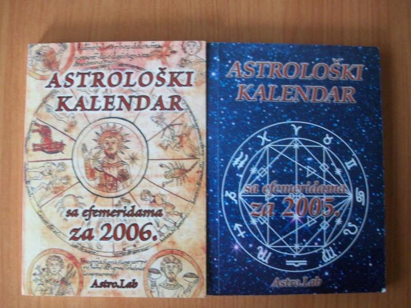 ASTROLOŠKI KALENDAR SA EFEMERIDAMA ZA 2005.i 2006.