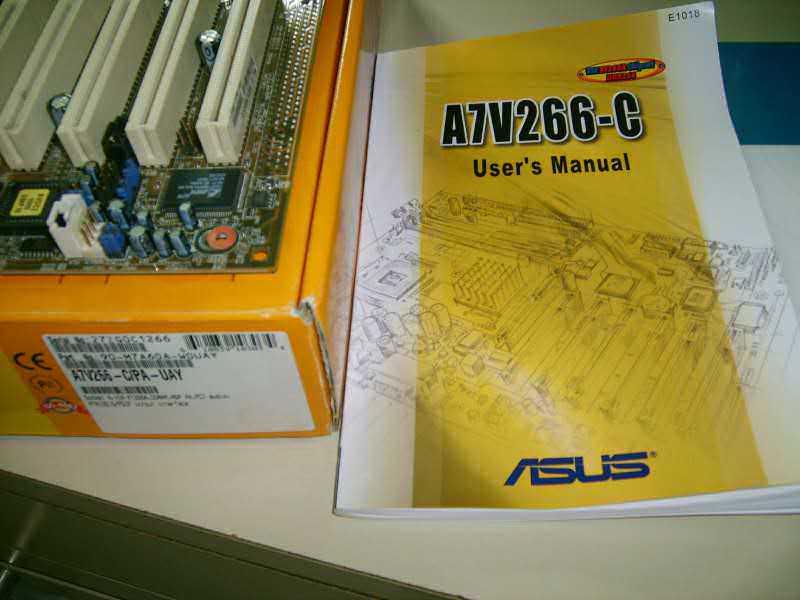 ASUS A7V266-C - Neispravna