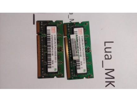 ASUS F3M RAM memorija 2x512mb ddr2