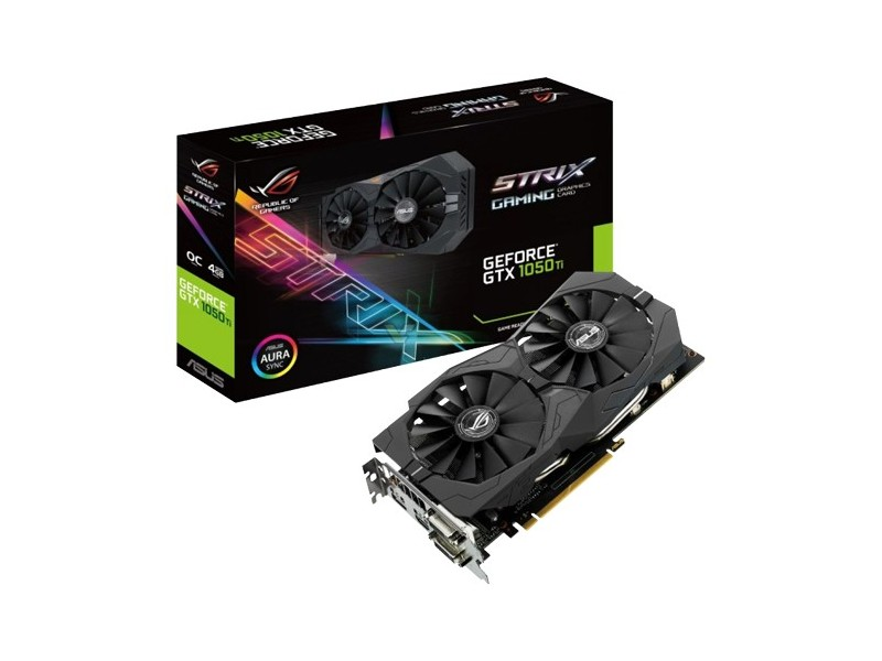 ASUS GeForce GTX 1050Ti 4GB GDDR5 128bit - STRIX-GTX105