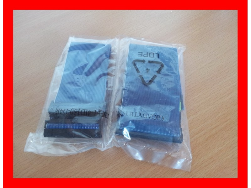 ATA 133 i floppy kabl - NOVO plavi