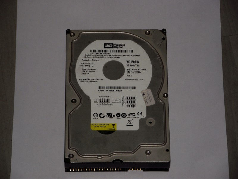 ATA Hard disk WD Caviar SE WD1600JB