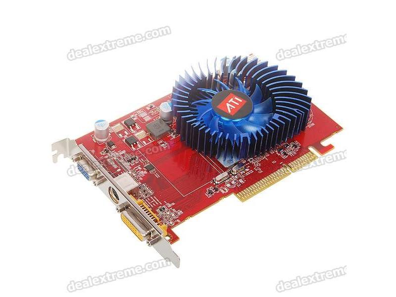 ATI Radeon HD3650 AGP graficka