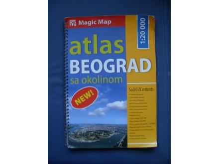 ATLAS - Beograd sa okolinom
