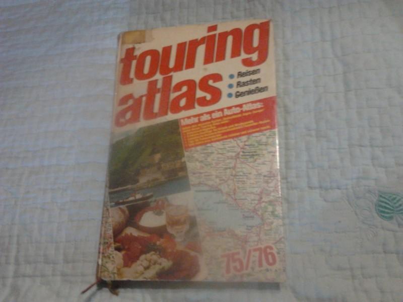 ATLAS EVROPE TOURING ATLAS