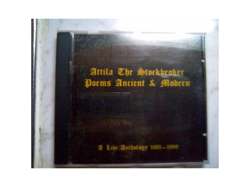 ATTILA THE STOCKBROKER: Poems Ancient And Modern - CD