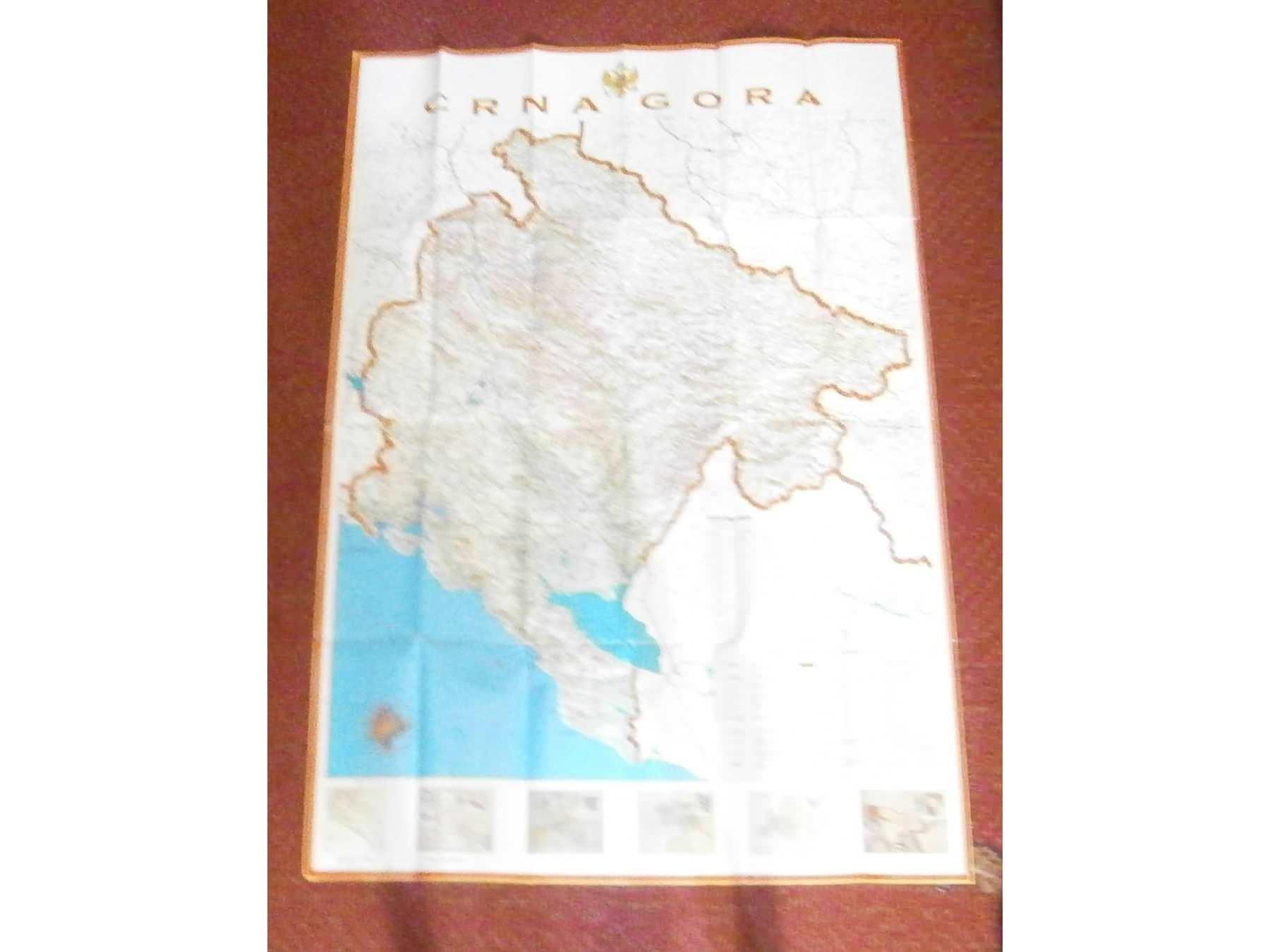 mapa beograda sa daljinarom AUTO KARTA CRNE GORE SA GRAFIČKIM AUTO DALJINAROM   Kupindo. mapa beograda sa daljinarom