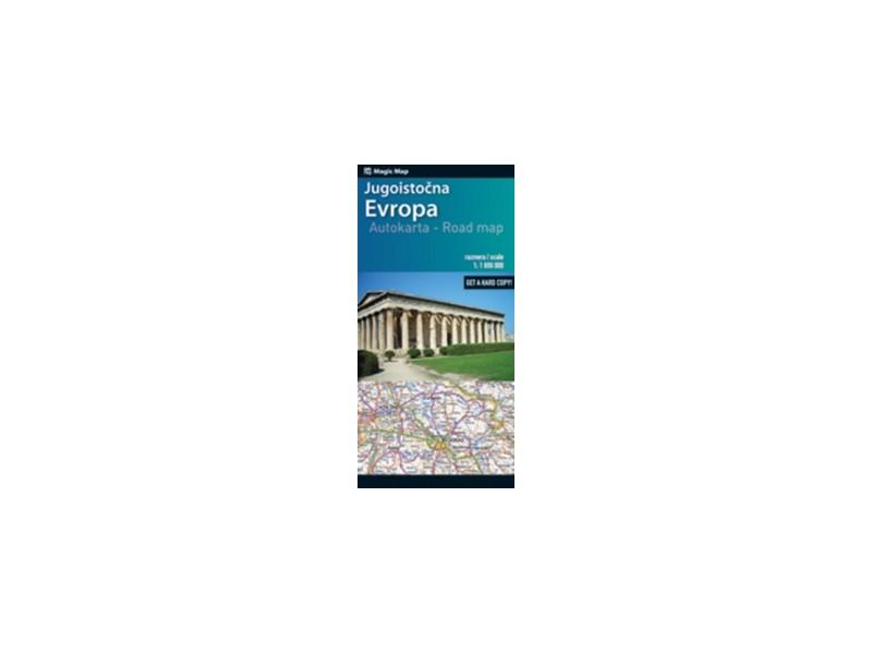 Auto Karta Jugoistocne Evrope Grupa Autora Kupindo Com 38993179