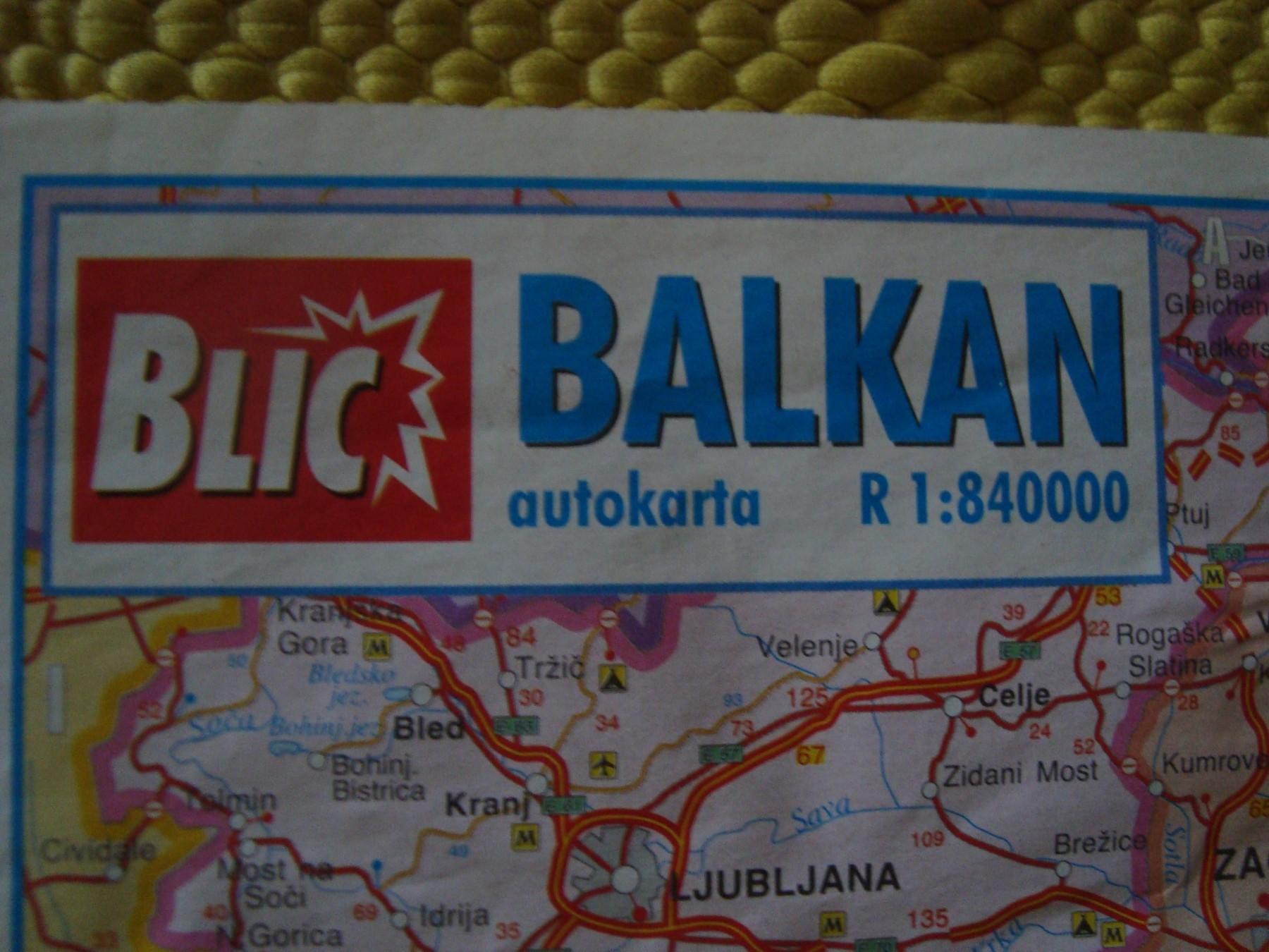 Autokarta Balkana Blic Kupindo Com 51180361