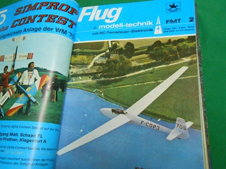 AVIO MODELI-Flug-und Modell-Technik-1976. br.240/251.