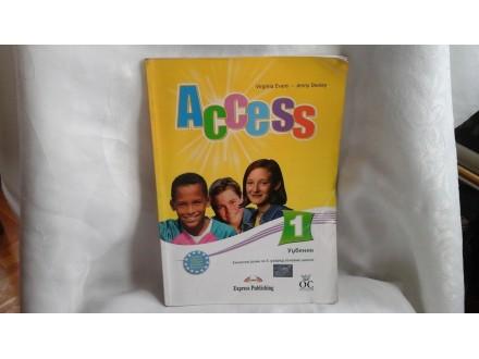 Access 1 udžbenik engleski jezik za 5 razred