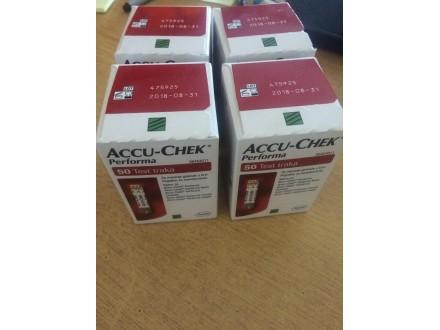 Accu chek performa test trake