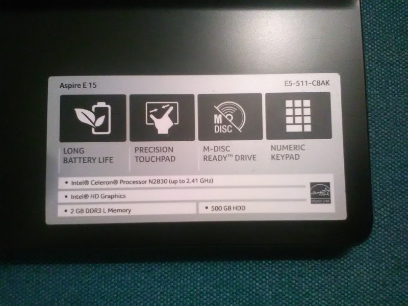 Acer NC-E5-511-C8AK Drivers for PC