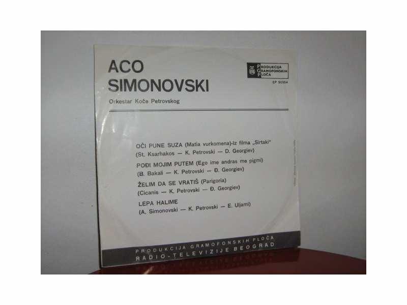 Aco Simonovski - Oči pune suza