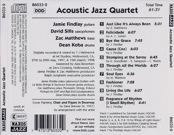 Acoustic Jazz Quartet - Kupindo com (28055665)