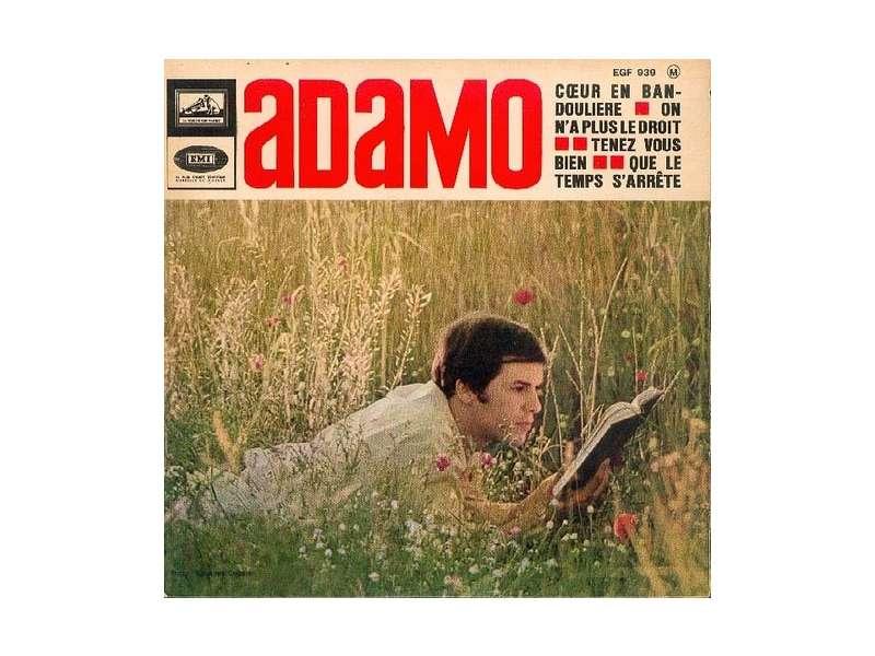Adamo - En Bandoulière / On N`a Plus Le Droit / Tenez Vous Bien / Que Le Temps S`arrête