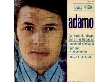 Adamo - J`Ai Tant De Rêves Dans Mes Bagages