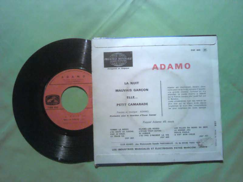 Adamo - La Nuit