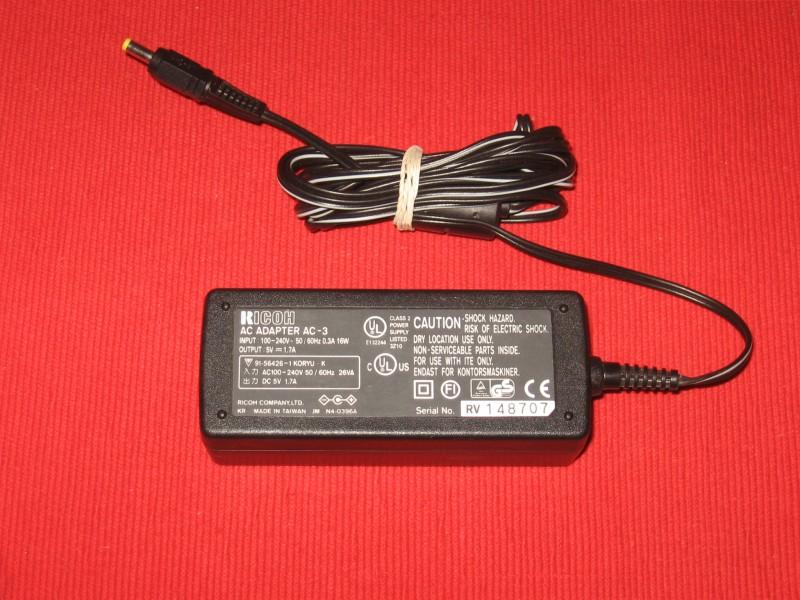 Adapter 5V 1.7A Ricoh AC-3