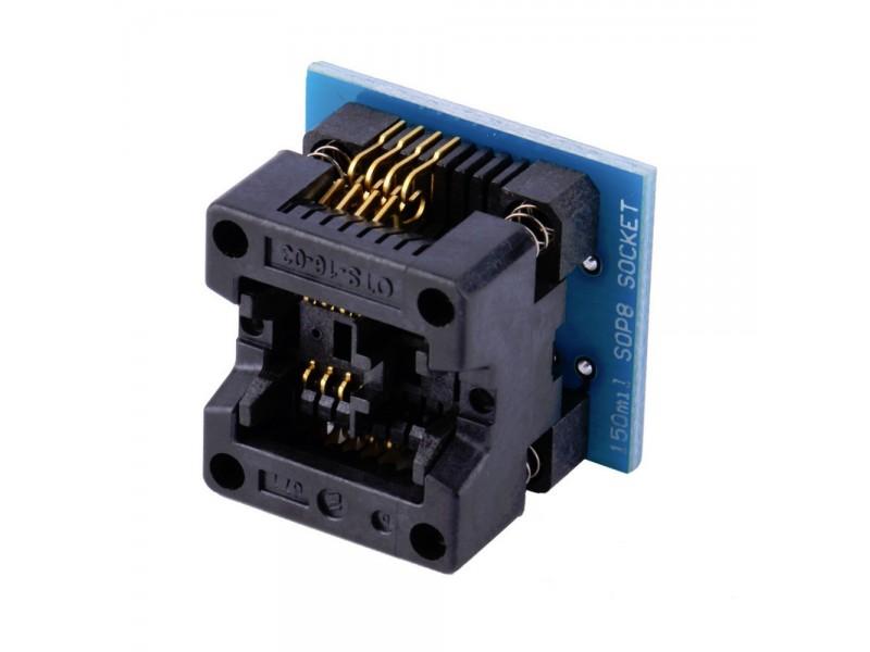 Adapter SOIC8 / SOP8 na DIP8 - 150 mils