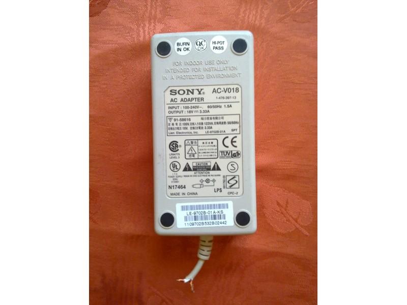 Adapter Sony 18V/3,33A AC-V018
