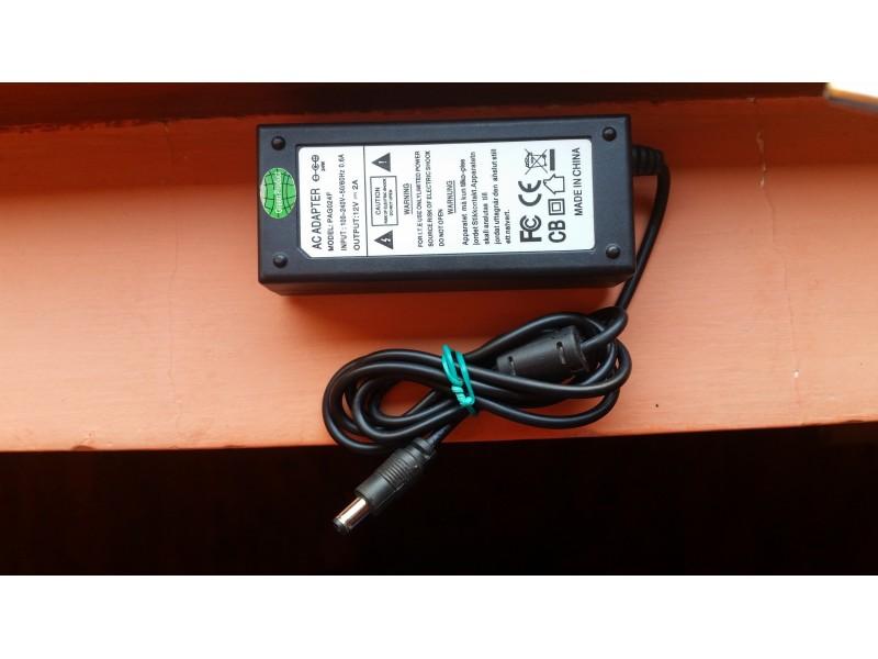 Adapter,ispravljac,punjac 12V, 2 A