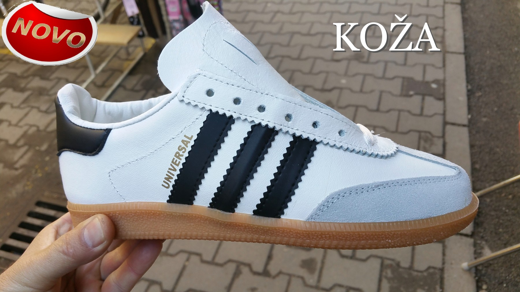 Adidas Universal Patike, Kozne, brojevi 39-47 NOVO