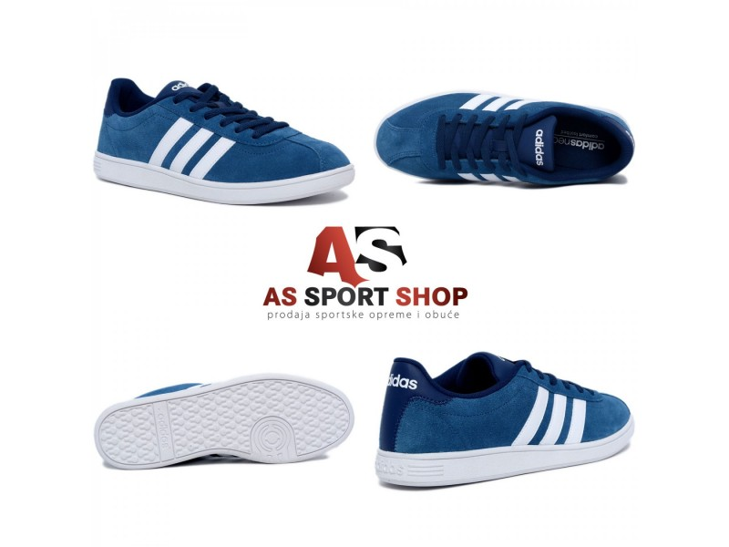Adidas VLCourt muške plitke plave patike - As Sport