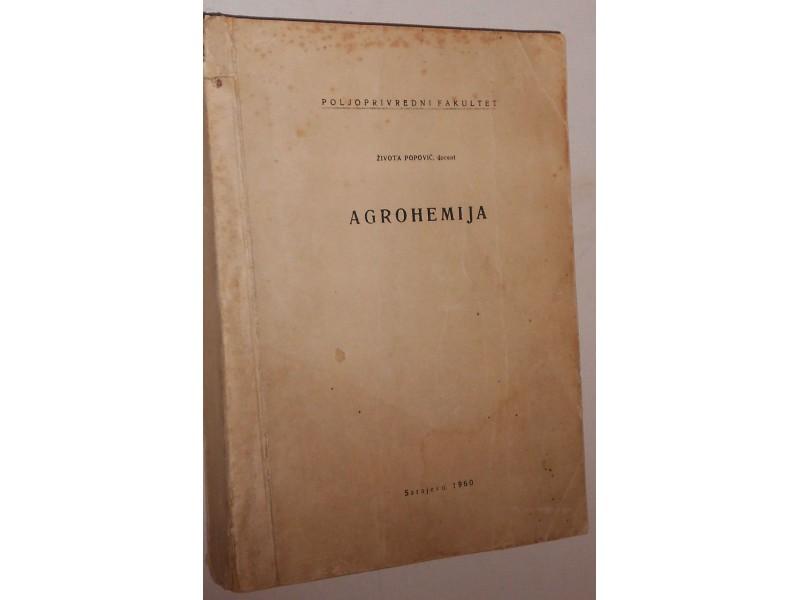 Agrohemija  - Života Popović, 1960g.