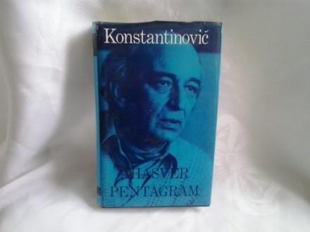 Ahasver pentagram Radomir Konstantinović