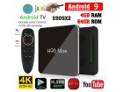 Akcija Nov Android TV Box H96 MAX X2 4/64GB + IPTV