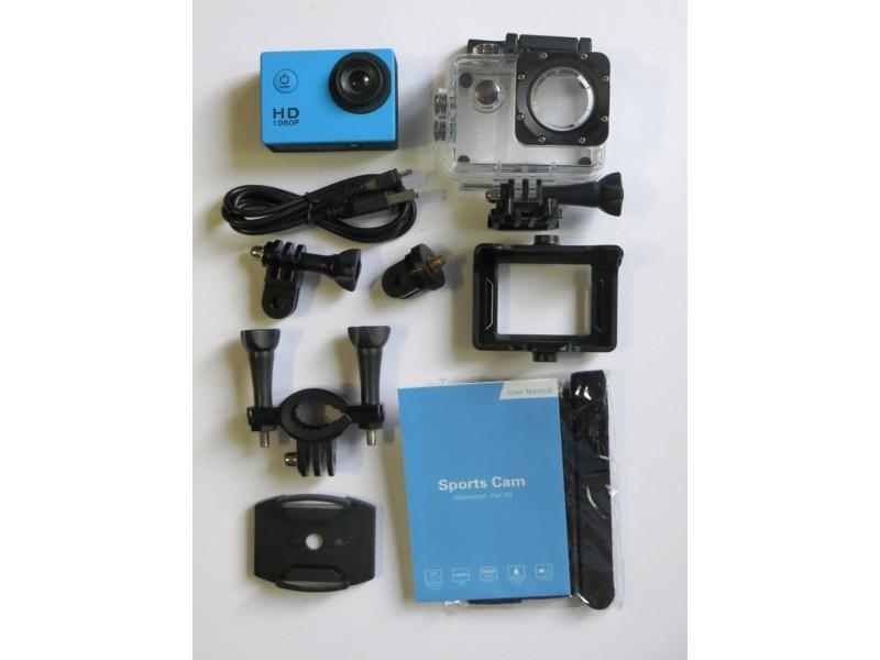 Akciona kamera 1080p, auto kamera PLAVA