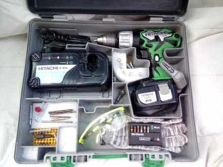 Aku busilica Hitachi DV18DL-original Japan