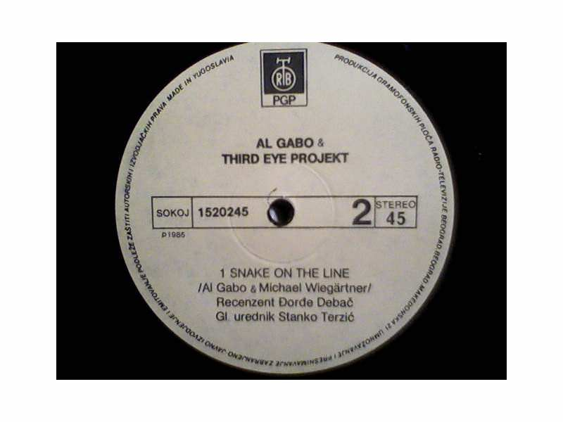 Al Gabo&Third Eye Project - Tunao Cho Chote/Snake On The Line