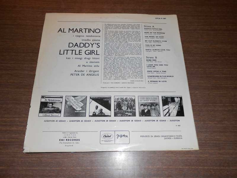 Al Martino - Daddy`s Little Girl