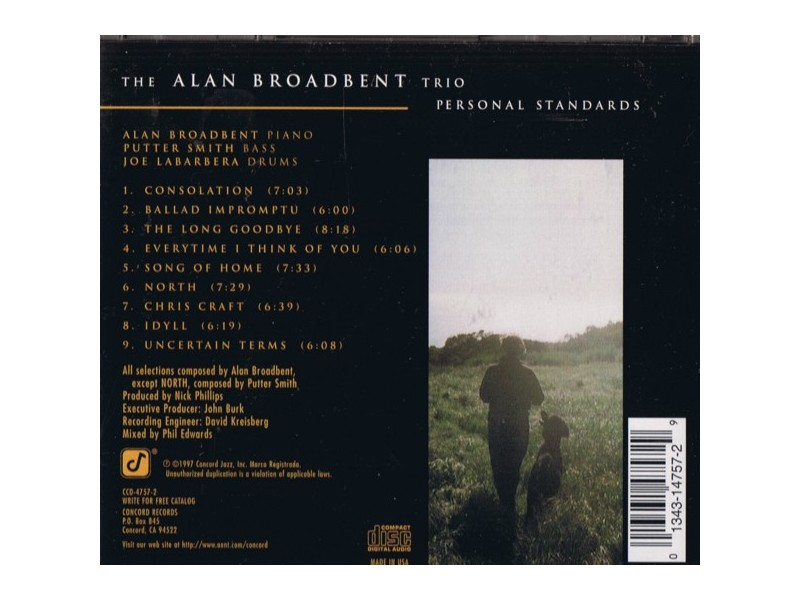 Alan Broadbent - Personal Standards