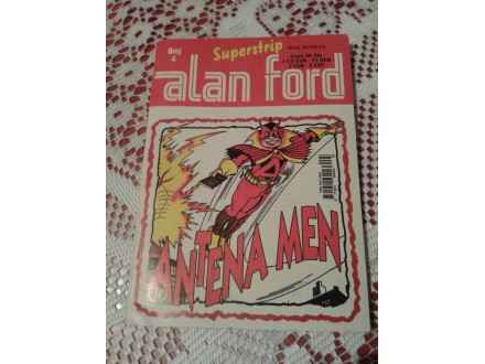 Alan Ford br.4 Antena Men