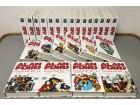 Alan Ford komplet kolekcija 1-159 (SVET) + 18 specijala